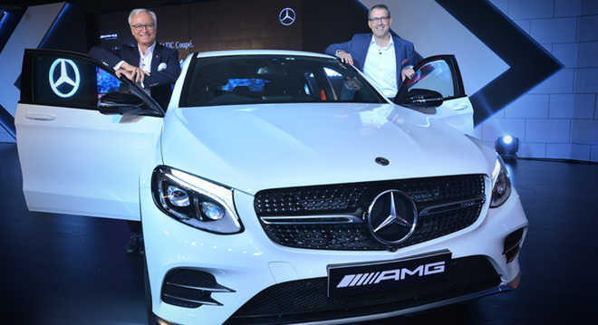 Mercedes-AMG GLC 43 Coupe India launch at Rs 74.8 lakh